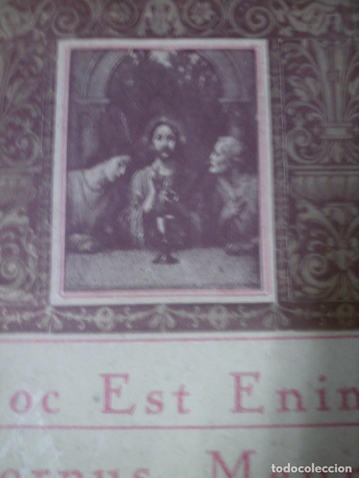 Antigüedades: ~~~~ ANTIGUA SACRA DE BRONCE LABRADO DEL S.XIX PARA ALTAR, IGLESIA O CAPILLA, MIDE 25 X 29,5 CM.~~~~ - Foto 3 - 119649259