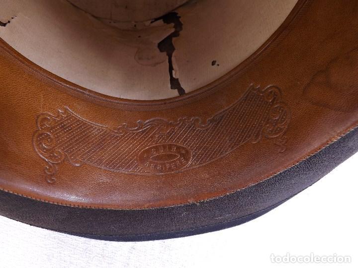 Antigüedades: ANTIGUO SOMBRERO DE COPA - Foto 9 - 119656191