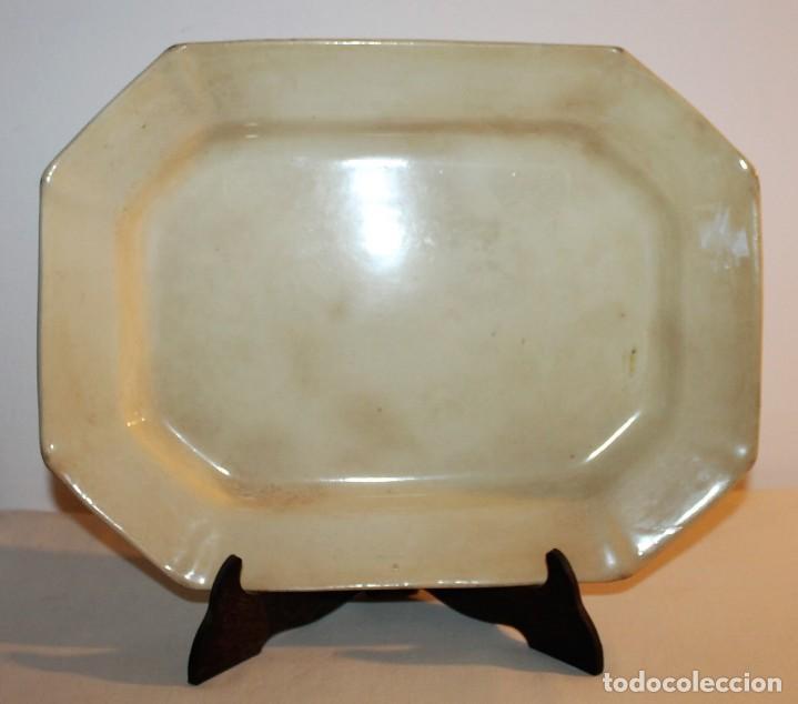 FUENTE EN LOZA DE PICKMAN SEVILLA CARTUJA - FINALES DEL SIGLO XIX (Antigüedades - Porcelanas y Cerámicas - La Cartuja Pickman)