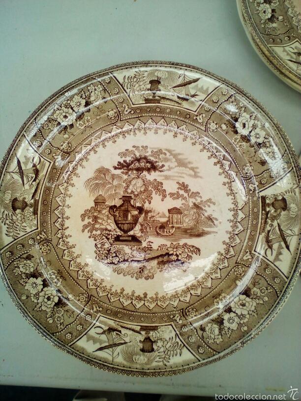 PLATOS (Antigüedades - Hogar y Decoración - Platos Antiguos)