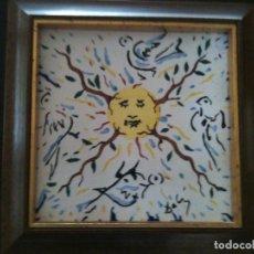 Antigüedades: SALVADOR DALI-EL SOL VEGETAL. Lote 119899839