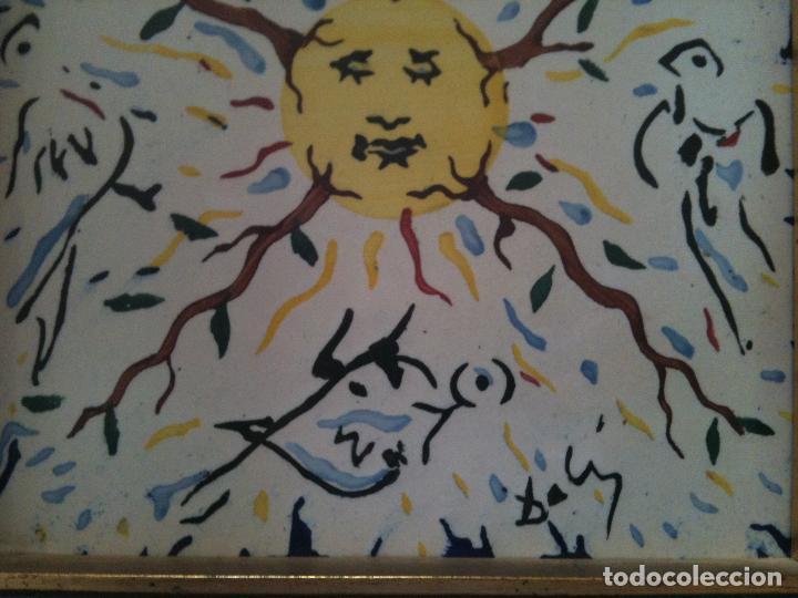Antigüedades: SALVADOR DALI-EL SOL VEGETAL - Foto 4 - 119899839
