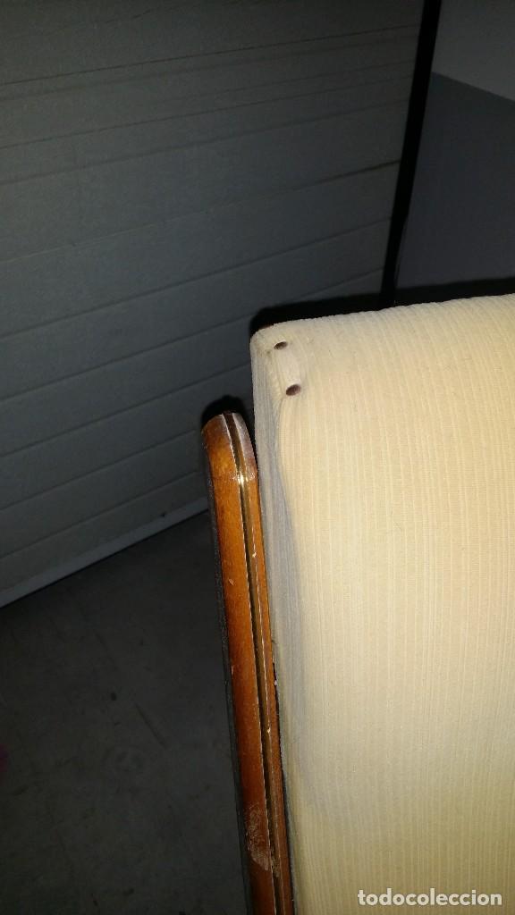 Antigüedades: mecedora plegable original a reparar - Foto 4 - 119913611