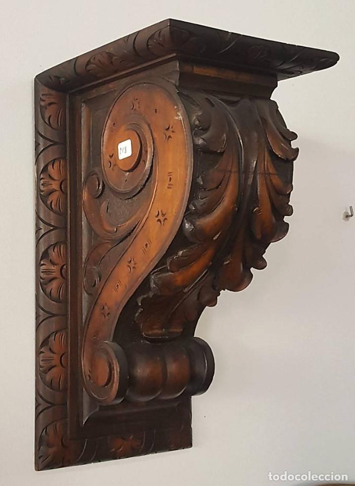 MÉNSULA TALLADA (Antigüedades - Muebles Antiguos - Ménsulas Antiguas)