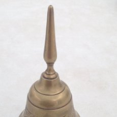 Antigüedades: CAMPANA ECLESIASTICA DE SOBREMESA O ALTAR. Lote 119958279