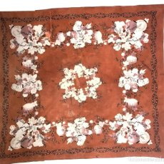 Antigüedades: PAÑUELO DE ALGODÓN ESTAMPADO - INDUMENTARIA TRADICIONAL - S. XIX - MUY RARO. Lote 119963227