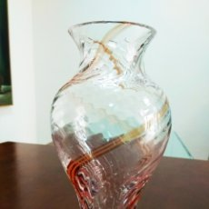 Antigüedades - Jarrón de cristal inglés - 119980231