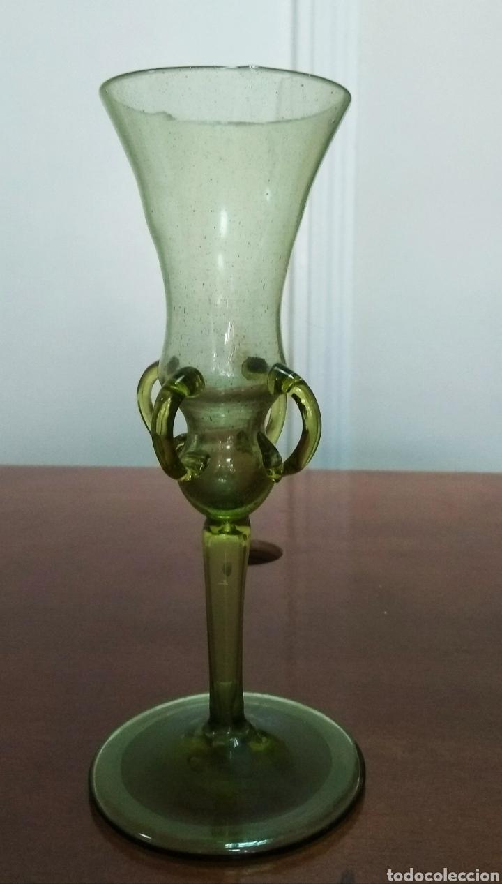 COPA DE CRISTAL ITALIANO (Antigüedades - Cristal y Vidrio - Italiano)