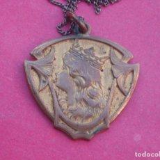 Antigüedades: PRECIOSA MEDALLA ANTIGUA MODERNISTA.. Lote 119993703