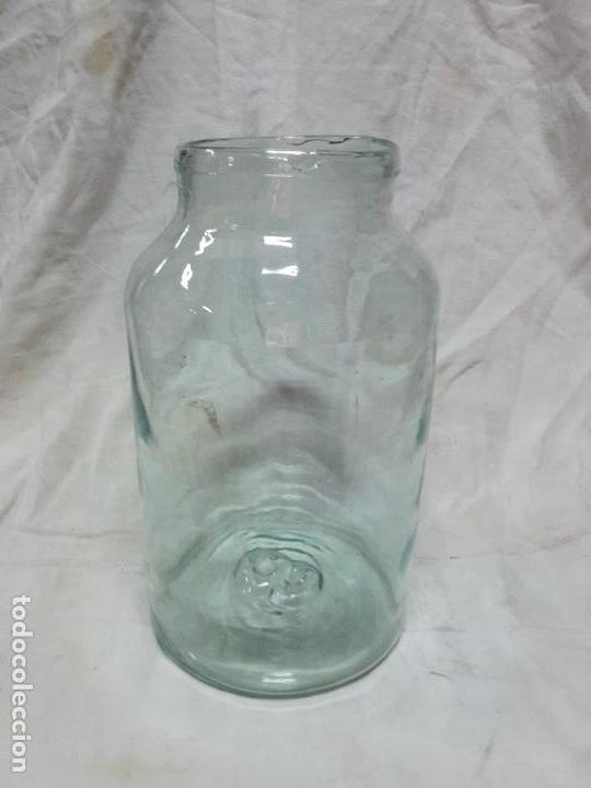 FRASCA CRISTAL ARTESANO, XIX, SOPLADO (Antigüedades - Cristal y Vidrio - Otros)