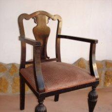 Antigüedades: SILLA ANTIGUA ALFONSINA. Lote 120032379