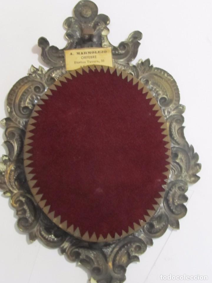 marco antiguo con virgen del rocío - Comprar Portafotos Antiguos en ...