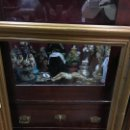 Antigüedades: GRAN MARCO DE MADERA Y DORADO - MEDIDA COMPLETO 88X84 CM Y MEDIDA INTERIOR 71X65 CM. Lote 120051775