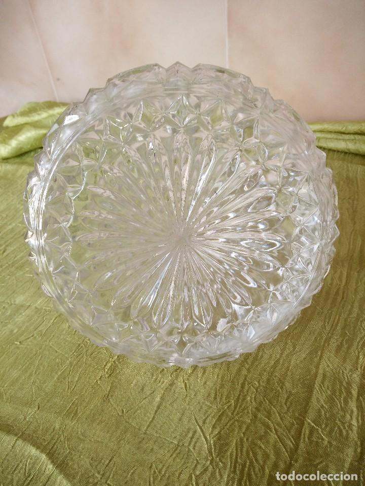 Antigüedades: antigua licorera de cristal de bohemia, república checa - Foto 7 - 120059119