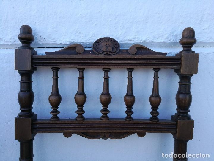 Antigüedades: Sillas antiguas talladas Nogal - Foto 5 - 120088539