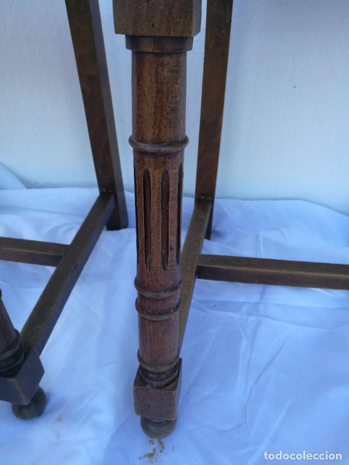 Antigüedades: Sillas antiguas talladas Nogal - Foto 6 - 120088539