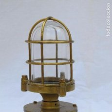 Antigüedades - FAROL DE BARCO. FAROL NAVAL - 120096331