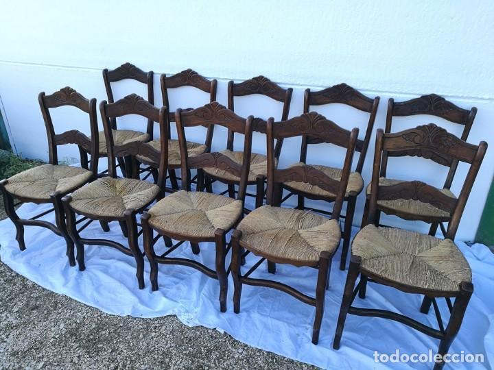 SILLAS DE ANEA ANTIGUAS (Antigüedades - Muebles Antiguos - Sillas Antiguas)