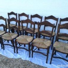 Antigüedades: SILLAS DE ANEA ANTIGUAS. Lote 120114059