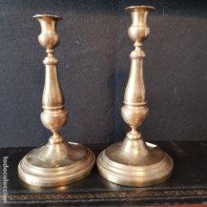 Antiquitäten - PAREJA DE CANDELEROS - 120135535