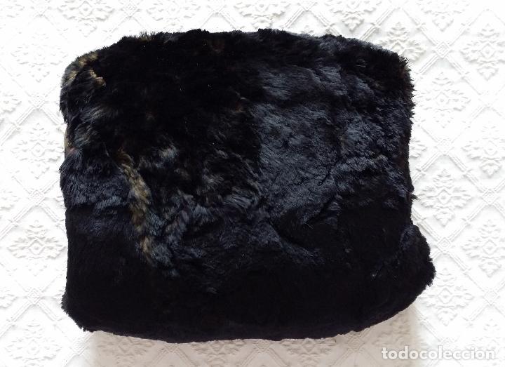 Antigüedades: Antiguo manguito piel - Foto 6 - 120146255