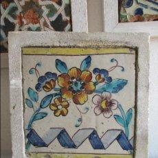 Antigüedades: AZULEJO VALENCIANO SIGLO XVIII. Lote 120147623