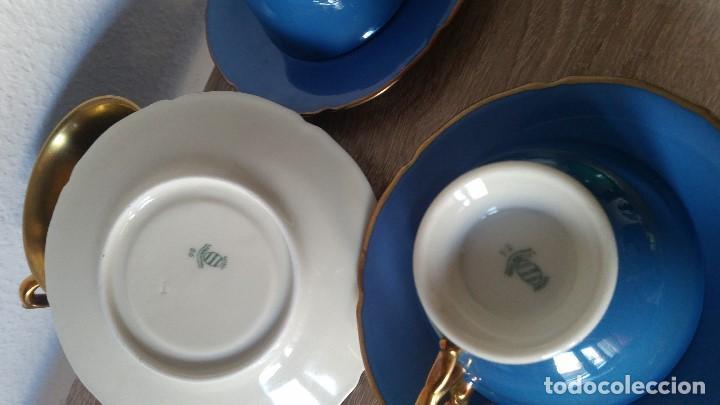 Antigüedades: EXPLENDIDO JUEGO DE CAFE PINTADO A POLVO DE ORO24K SELADO ROSENTALANOS 40,50 - Foto 9 - 120148459