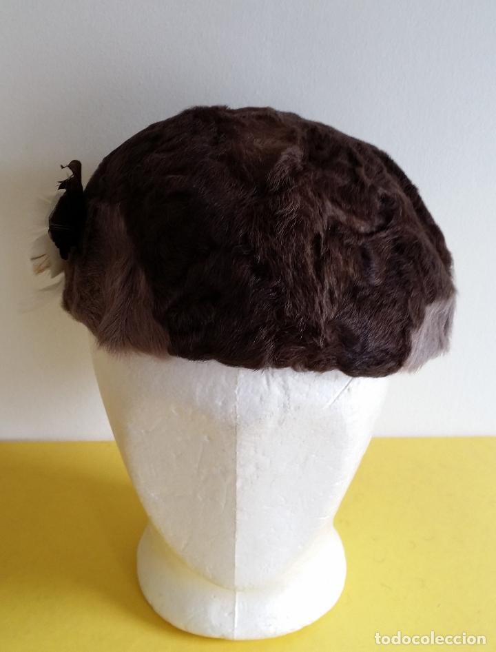 Antigüedades: Antiguo sombrero / tocado / gorro Art Deco , años 20 - 30 - Foto 2 - 120149507