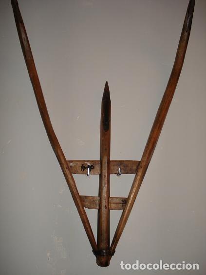 Antigüedades: Forcas de madera muy antiguas - Foto 4 - 41756407