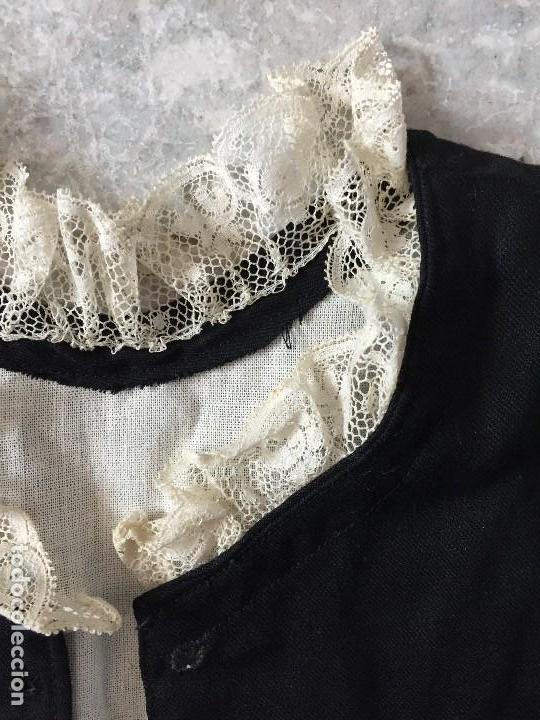Antigüedades: chaleco sastre de traje niño ceremonia gala infantil sXIX cuello de encaje elegante infante noble - Foto 5 - 119062475