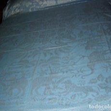 Antigüedades: ANTIGUA COLCHA DE SEDA,PRECIOSA,ESTA NUEVA.. Lote 120200887