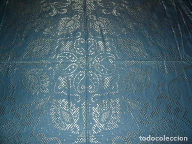Antigüedades: ANTIGUA COLCHA DE SEDA,PRECIOSA,ESTA NUEVA. - Foto 13 - 120200887