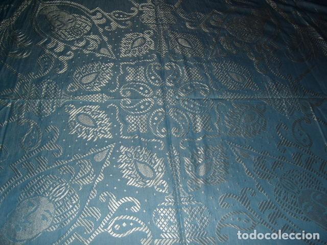 Antigüedades: ANTIGUA COLCHA DE SEDA,PRECIOSA,ESTA NUEVA. - Foto 14 - 120200887
