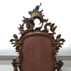 Antigüedades: ANTIGUO MARCO PARA FOTOGRAFÍA EN BRONCE.. Lote 120210015