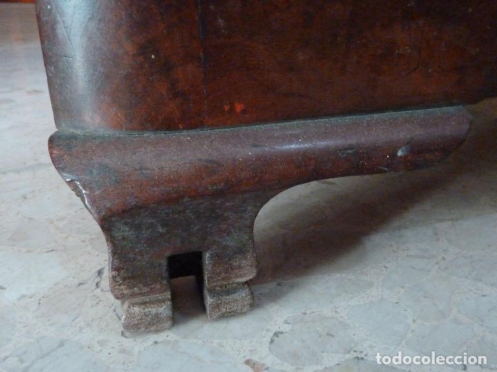 Antigüedades: DOMPEDRO O ORINAL ISABELINO - PEQUEÑO ARMARIO CON COMPARTIMENTOS Y REPOSA BRAZOS - Foto 14 - 120234663