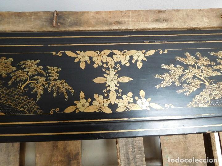Antigüedades: Bastón de marfil antiguo con su caja lacada original finales de siglo XIX - Foto 39 - 120236743