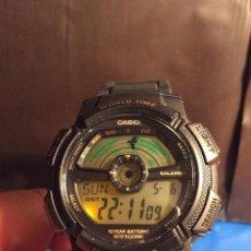 Relojes - Casio: RELOJ CASIO AE 1100 W ¡¡¡ WORLD - TIME !!! VINTAGE ¡¡NUEVO!! (VER FOTOS). Lote 120255039