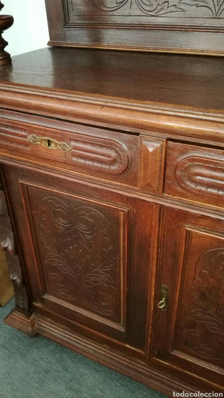 Antigüedades: Aparador de madera de roble muy bonito - Foto 3 - 120279890