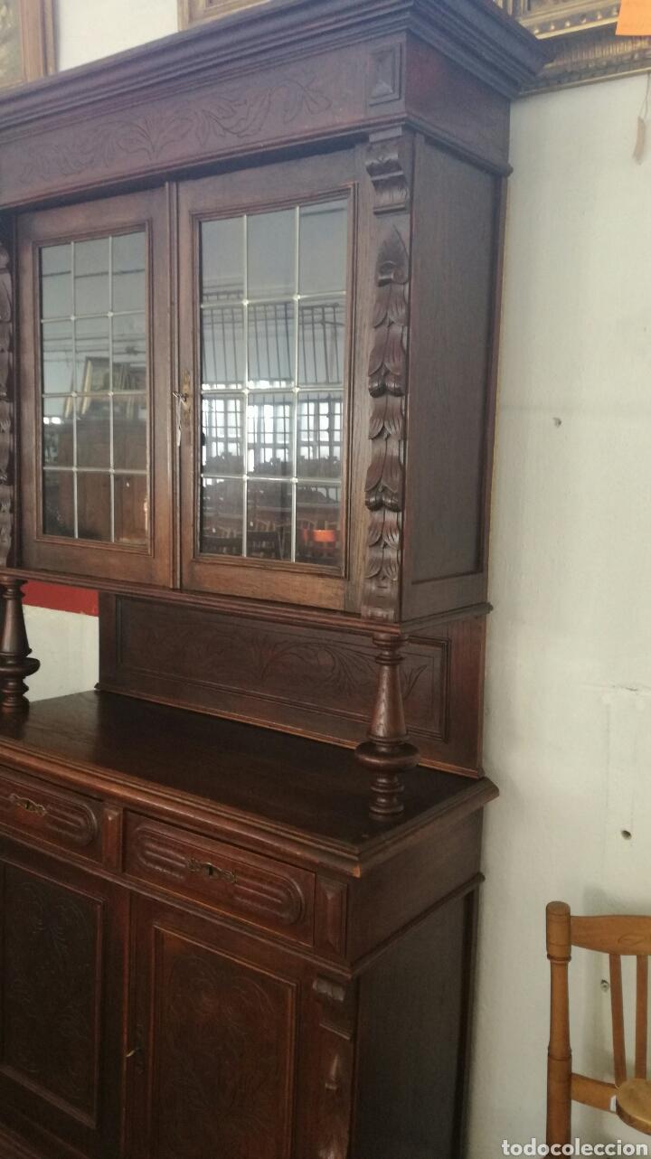 Antigüedades: Aparador de madera de roble muy bonito - Foto 5 - 120279890