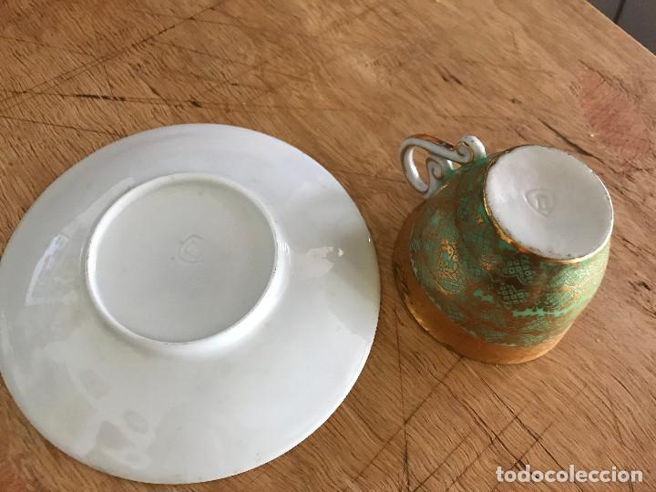 Antigüedades: Antigua taza y plato del Castro, Sargadelos, 1ª ÉPOCA - Foto 2 - 120282783