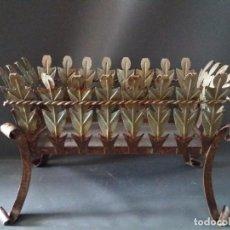 Antigüedades: JARDINERA DE HIERRO VINTAGE. Lote 120313275