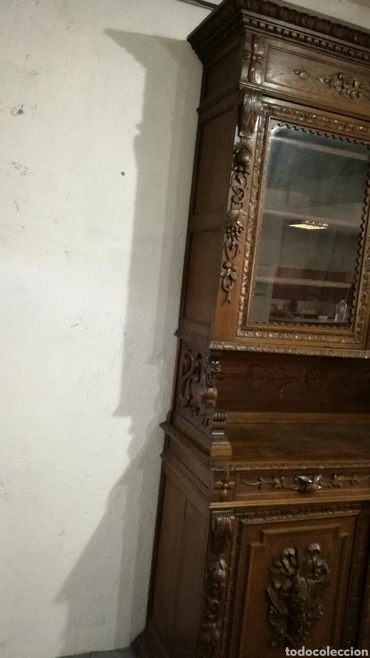 Antigüedades: Aparador de madera de roble macizo - Foto 2 - 120317879