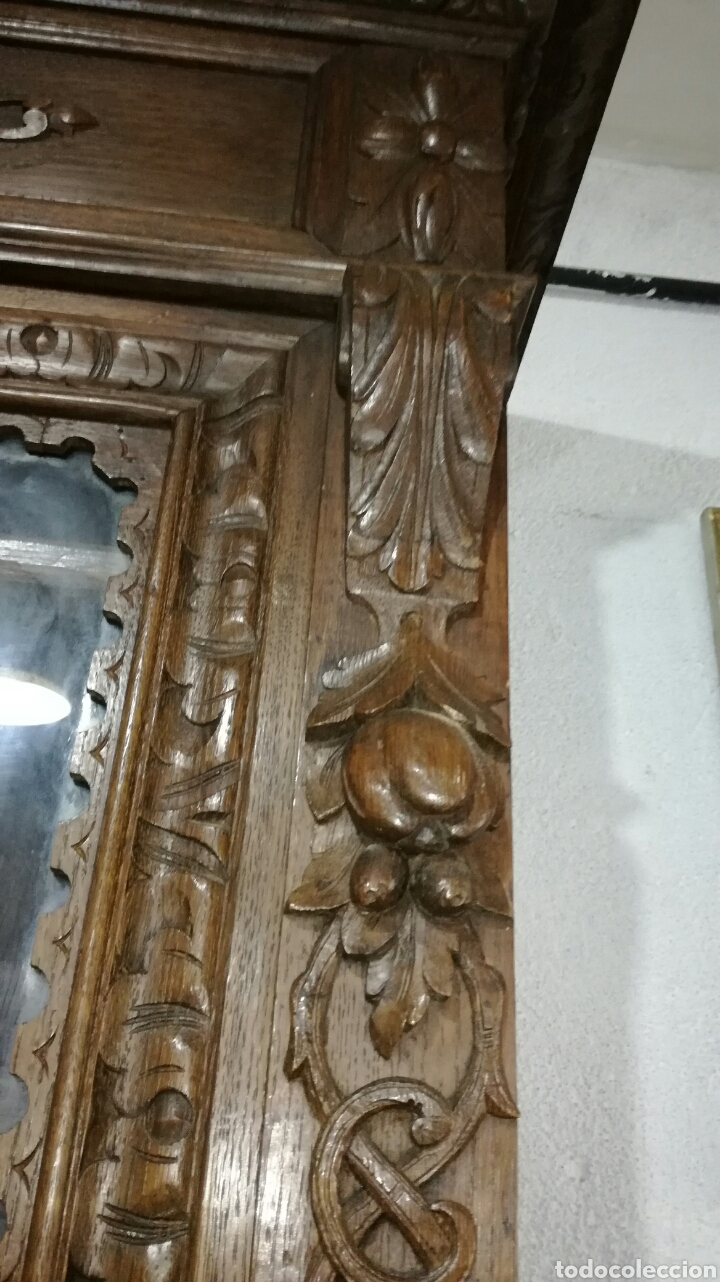 Antigüedades: Aparador de madera de roble macizo - Foto 4 - 120317879