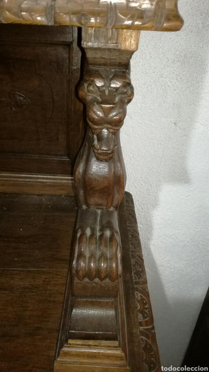 Antigüedades: Aparador de madera de roble macizo - Foto 5 - 120317879