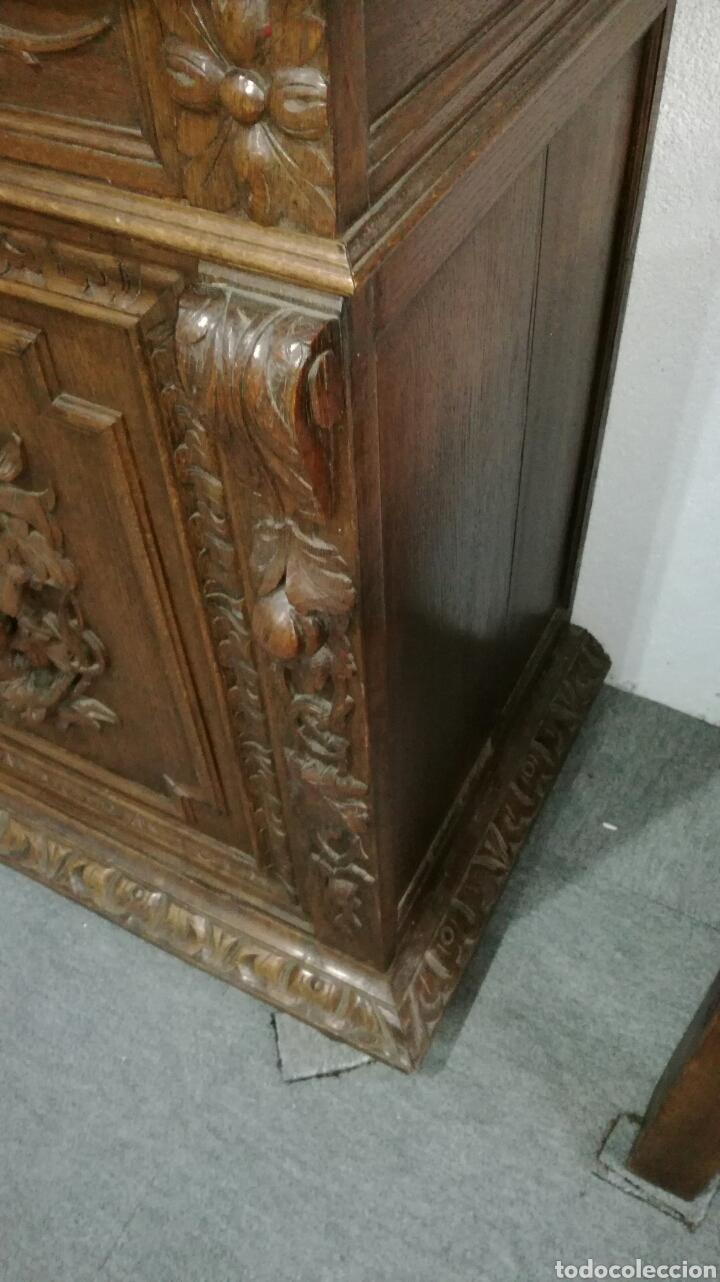 Antigüedades: Aparador de madera de roble macizo - Foto 7 - 120317879