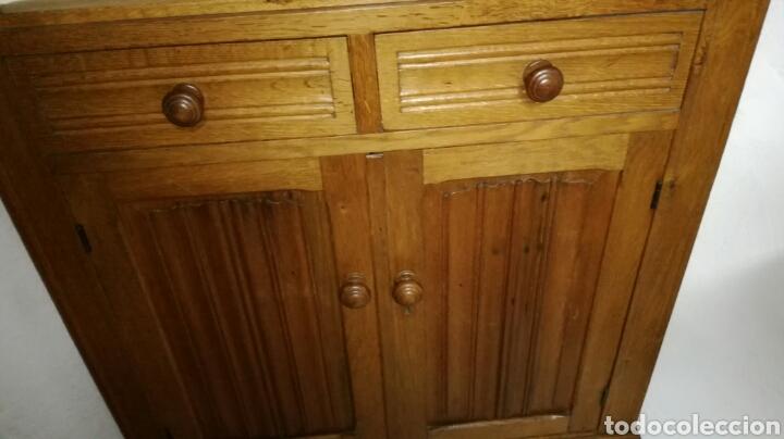Antigüedades: Rinconera de madera de roble - Foto 4 - 120319228