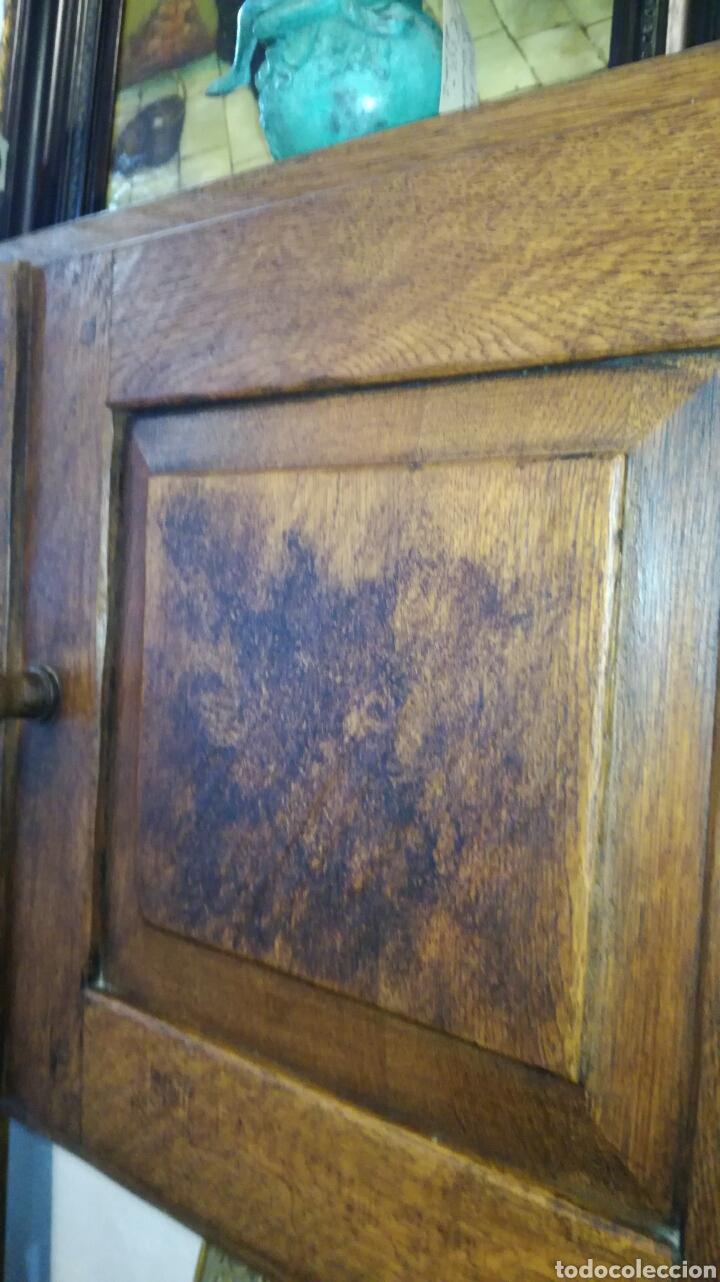 Antigüedades: Librería de madera de roble macizo muy bonita y pesada - Foto 6 - 120322647
