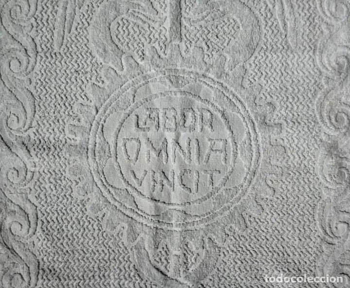 Antigüedades: TOALLA ALMACENES JORBA OCTUBRE 1926, RARÍSIMA. VER FOTOS - Foto 5 - 120323519