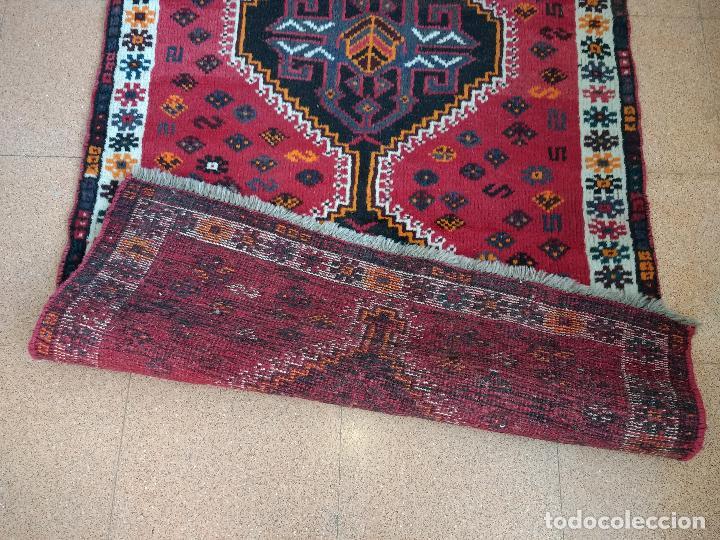 Antiques: Alfombra Persa Irán. Hamedan. Lana 100%. 145X99 cm.Envío Gratis solo Península. - Foto 4 - 120325443