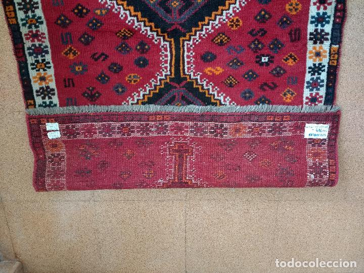 Antiques: Alfombra Persa Irán. Hamedan. Lana 100%. 145X99 cm.Envío Gratis solo Península. - Foto 5 - 120325443
